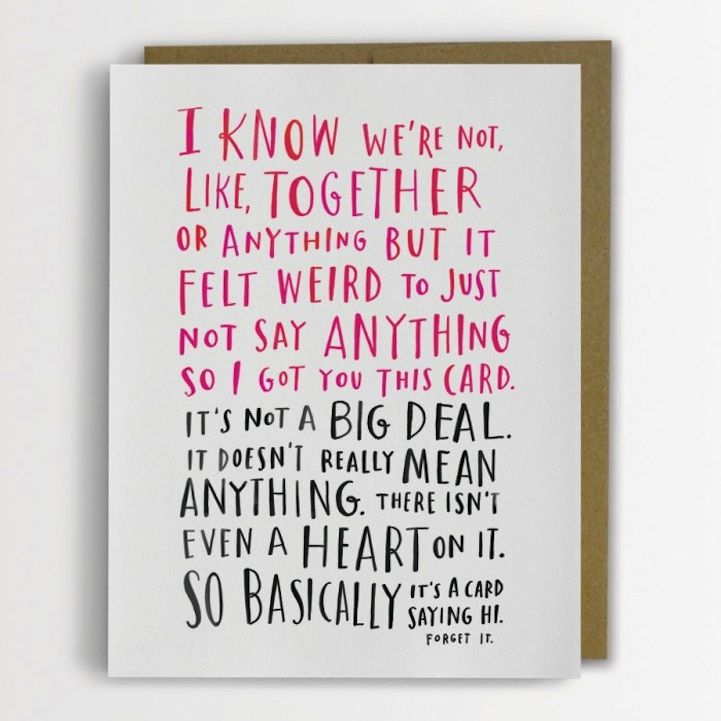 adorably awkward cards by emily mcdowell its complicatedvalentine day
