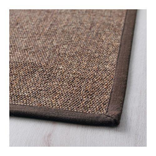 OSTED Teppich flach gewebt, braun   Flure, Einrichtung und Wohnzimmer