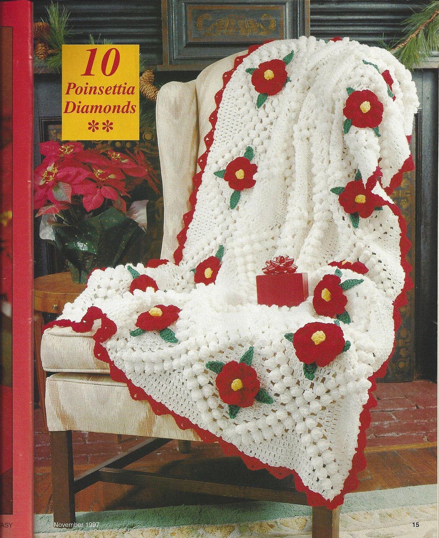 christmas afghan patterns | Crochet Pattern Christmas ...