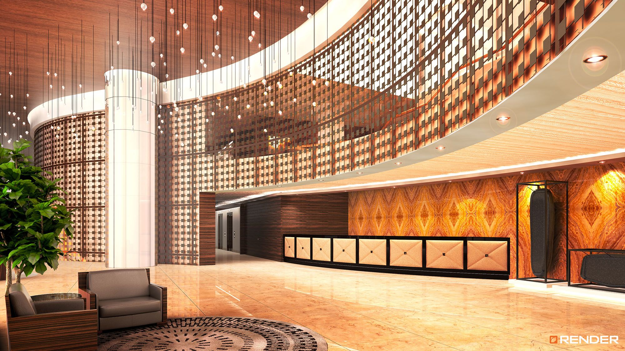 #sofia #building #residential #spgg #mexico #render #rendering #3d #architecture #realestate #building #interior #design #rendermediasolutions #bettersales #lobby