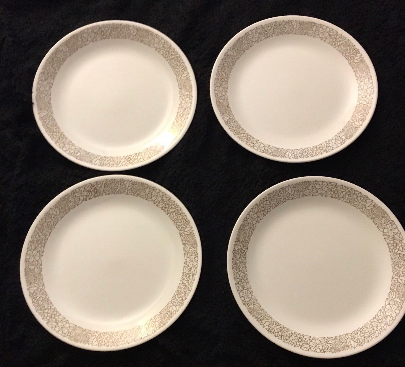 Corelle by Corning Woodland Brown Dish Set of 4 Dinner