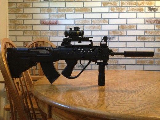 ar15 carry handle style | SKS-45 | Guns, Carry on, Handle