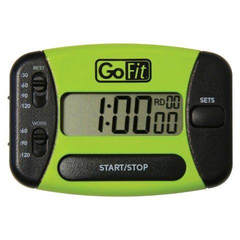 GoFit GoTimer Interval Training Timer