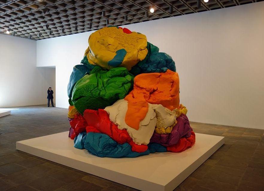 Jeff Koons Artist Retrospective Exhibition Celebration Series Play-Doh Sculpture Whitney Museum Of American Art New York