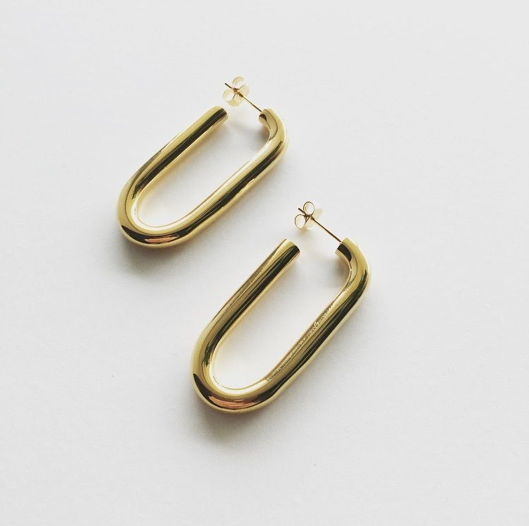 Estimated Restock Date November 25th Solid earrings with