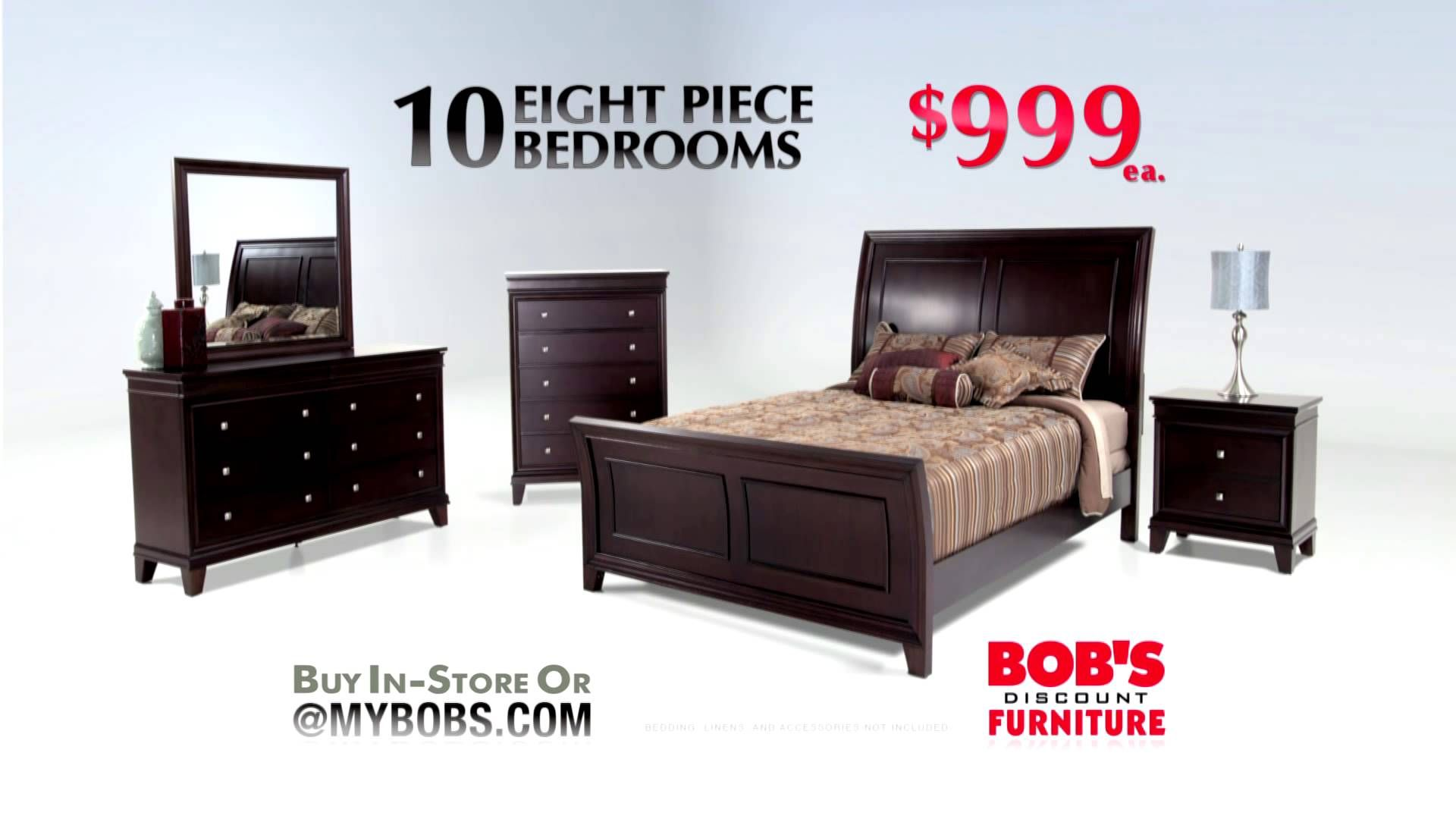 999 8 Piece Bedrooms Bob S Discount Furniture Discount Bedroom Furniture Bedroom Layouts For Small Rooms Cheap Bedroom Furniture Sets