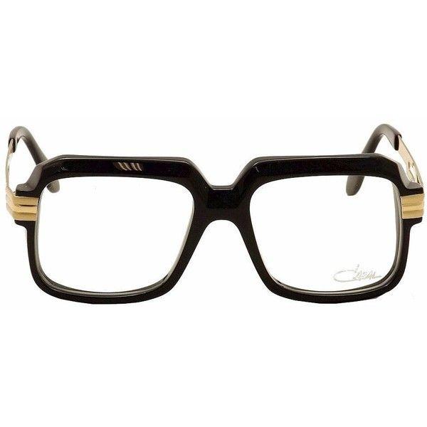 831bbea4abb5 Cazal Eyeglasses 607 2 001 Black Gold Full Rim Optical Frames 56mm ( 400