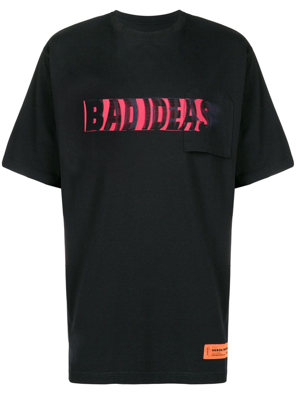 5c03abe87aff3 HERON PRESTON Bad Ideas print T-shirt.  heronpreston  cloth ...
