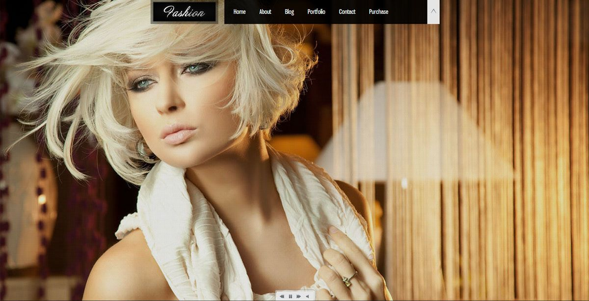 Fashion Wordpress Webvisitenkarte