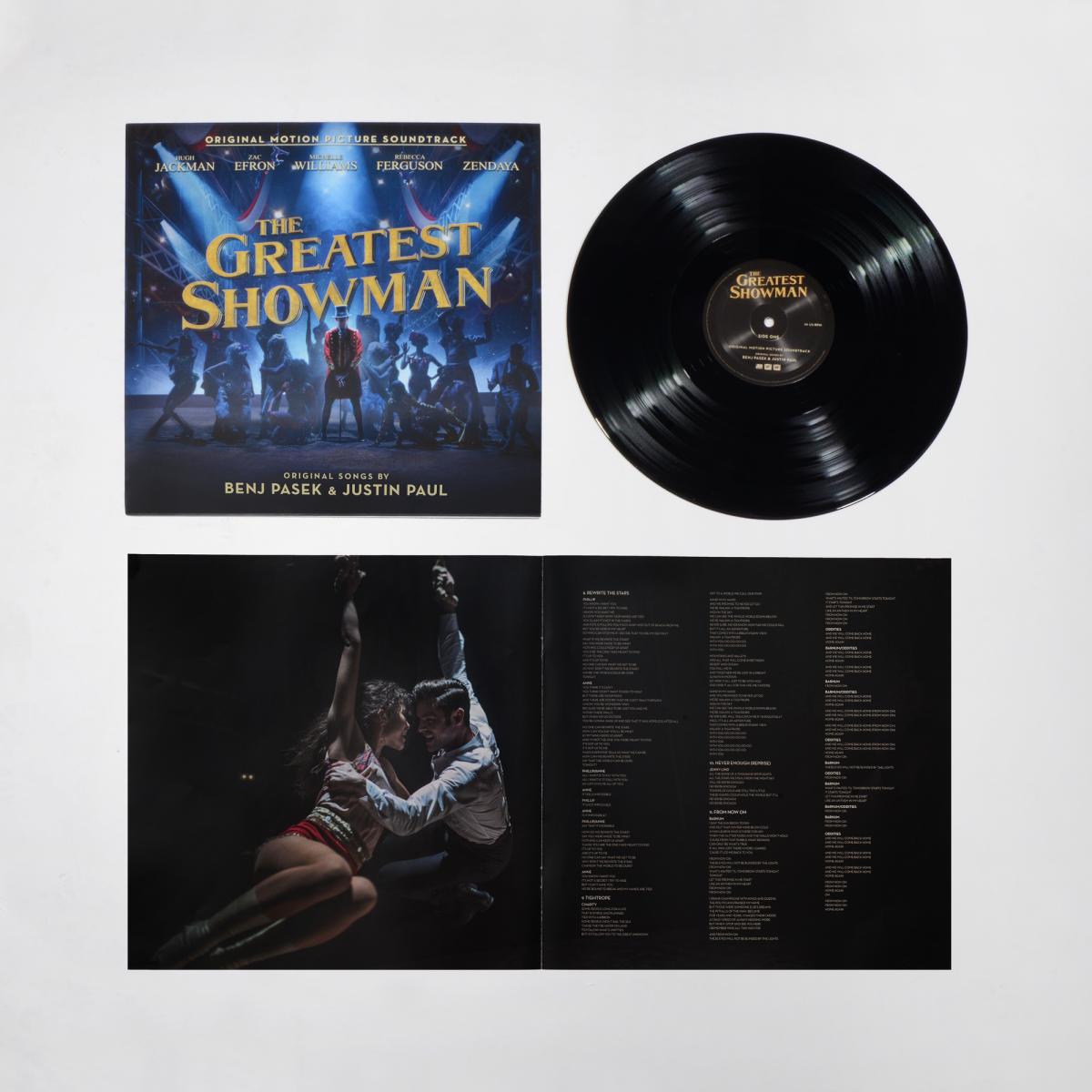 The Greatest Showman Original Motion Picture Soundtrack Vinyl The Greatest Showman Vinyl Records Music Soundtrack