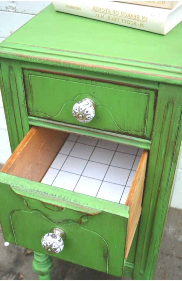 Antibes Green Beistelltisch Themed Furniture Makeover