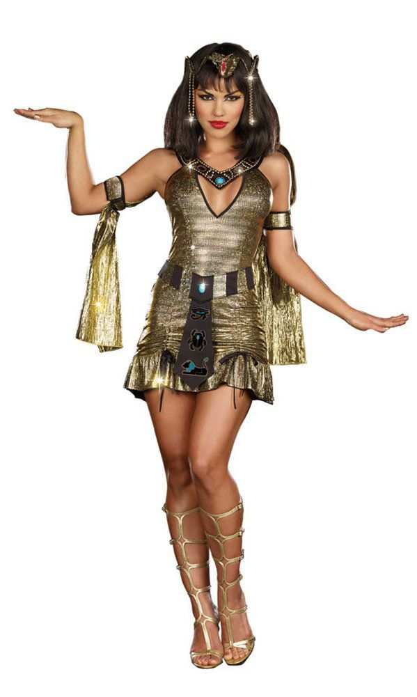 sexy naughty on the nile cleopatra costume maybe miss cleo - Naughty Costumes For Halloween
