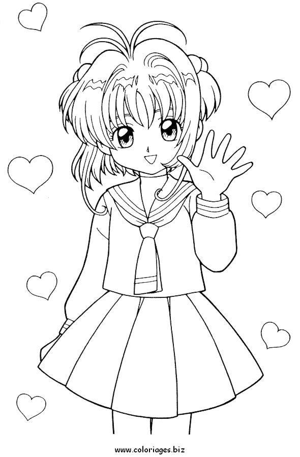 Coloriage de manga how to draw coloriage manga dessin a colorier dessin - Coloriage manga livre ...