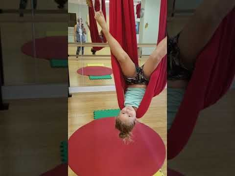 aerial yoga and aerial kids yoga  how to get into