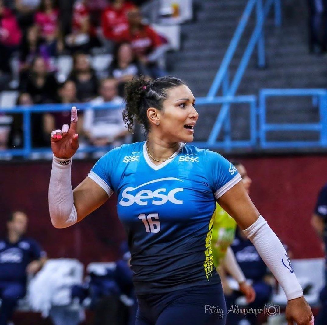 Fivb Volleyball World On Instagram Tandara Scores 40 Points In 1 Match Star Opposite Tandara Caixeta Carried Sesc Rj To Their Four In 2020 Volleyball Match Carry On