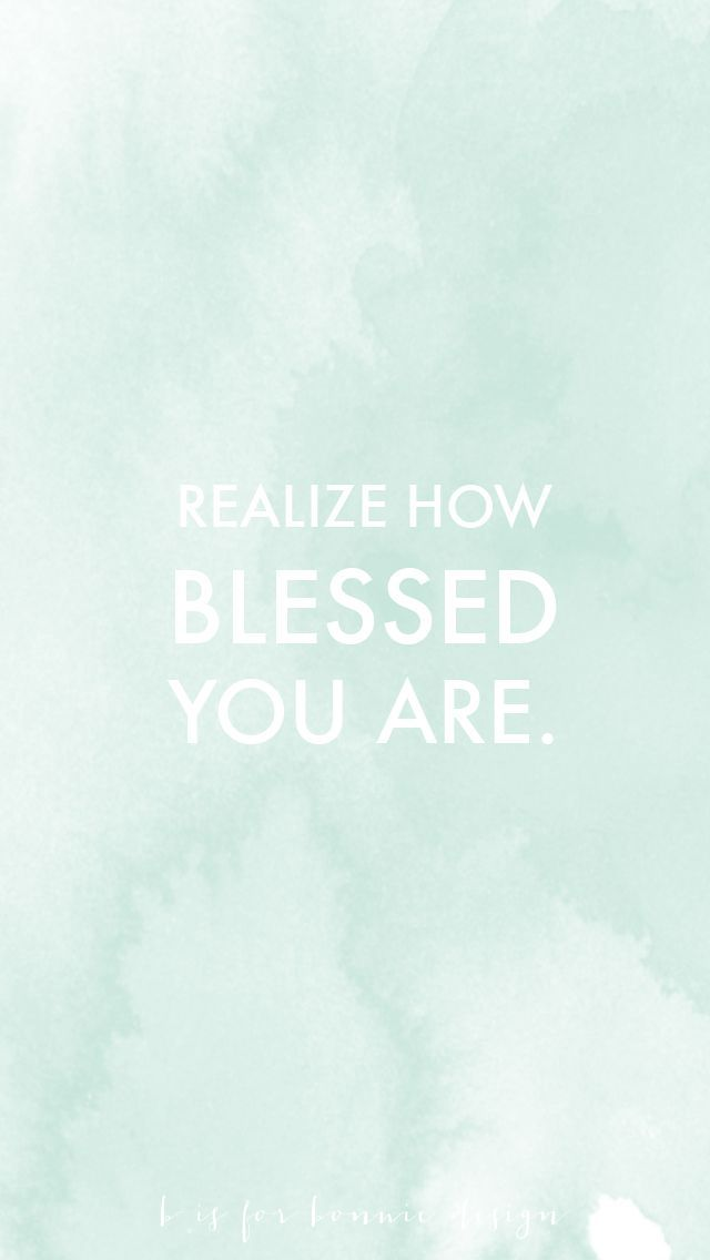 I Am Blessed Wallpaper free background for iP...