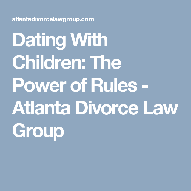 dating rules for divorced parents