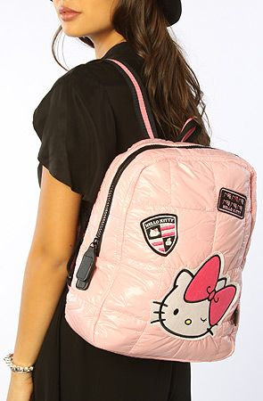 2ab76ed5d *Accessories Boutique The Friendly Hello Kitty Backpack in Pink :  Karmaloop.com - Global Concrete Culture