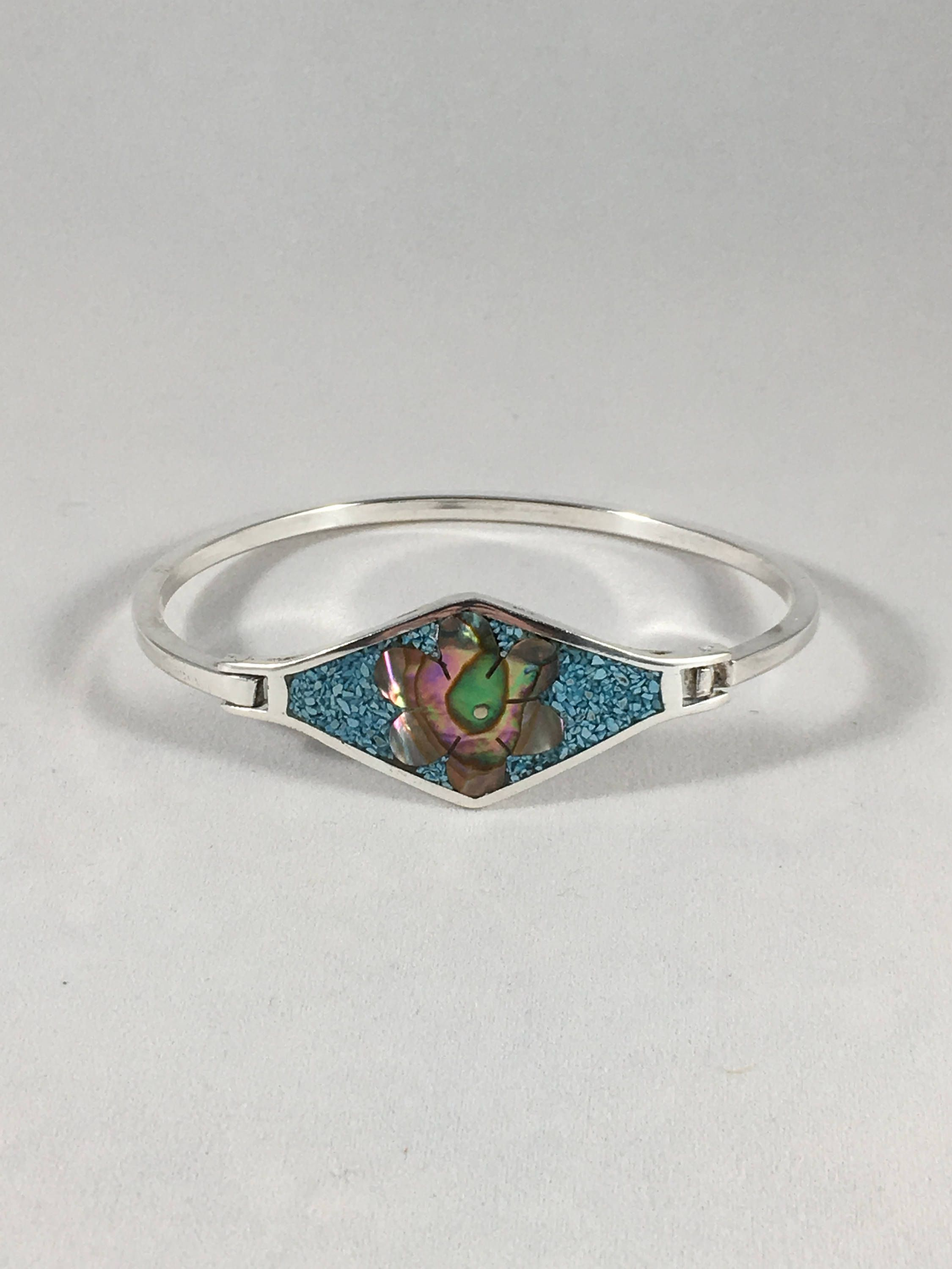 shell features stone artisan engagement rings devotion btq ring kung abalone sterling or products undefined vintage handcrafted style sr aeravida the endearing thailand a this silver from shaped true turquoise heart