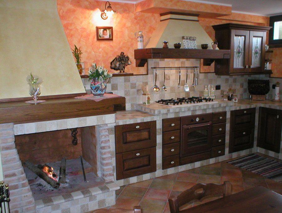 30 Cucine in Muratura Rustiche dal Design Classico | House ideas ...