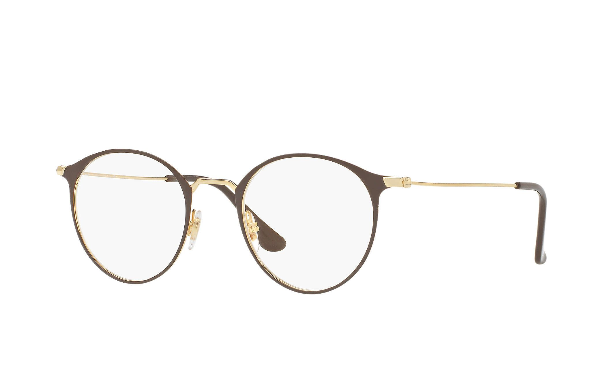 Ray-Ban 0RX6378-RB6378 Brown; Gold OPTICAL | Optics | Pinterest ...