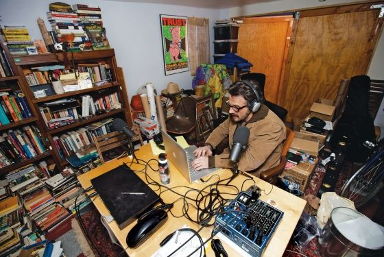 Wtf Podcaster Marc Maron On Being The Comedians Therapist Marc Maron Home Studio Music Comedians