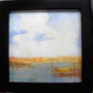 Artists Of Texas Contemporary Paintings and Art - Marsh Grass Barbara Haviland