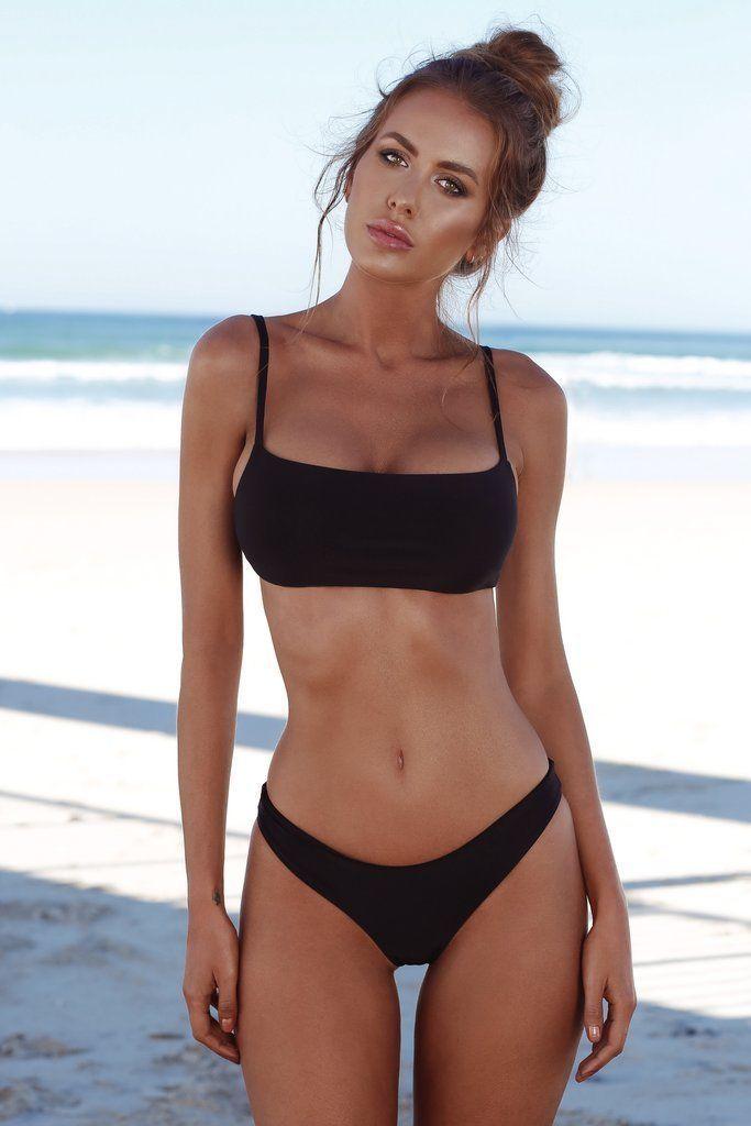 07bc8b2e0ac Women Swimwear Bandage Bikini Set Push-up Padded Bra Bathing Suit Swimsuit  Size Bust Waist Length S 74CM/29.13