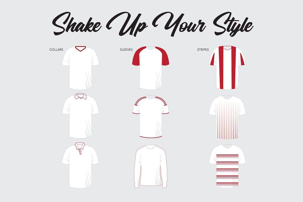 Complete Free Soccer Kit Psd Mockup Soccer Kits Mockup Psd Mockup