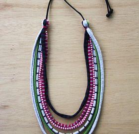 Coalesced. textile jewellery   Contact