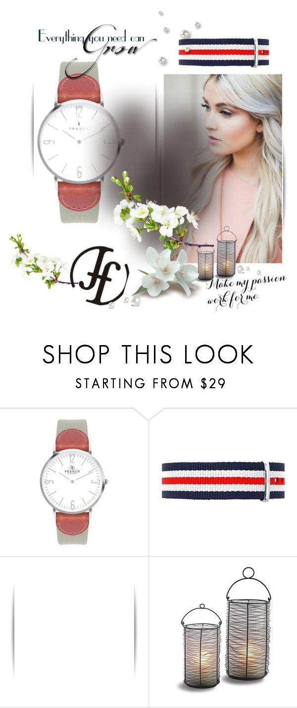 """FrancoFlorenzi 4"" by lena-386 ❤ liked on Polyvore featuring VIcenza, watch, bracelet, accessories and francoflorenzi"