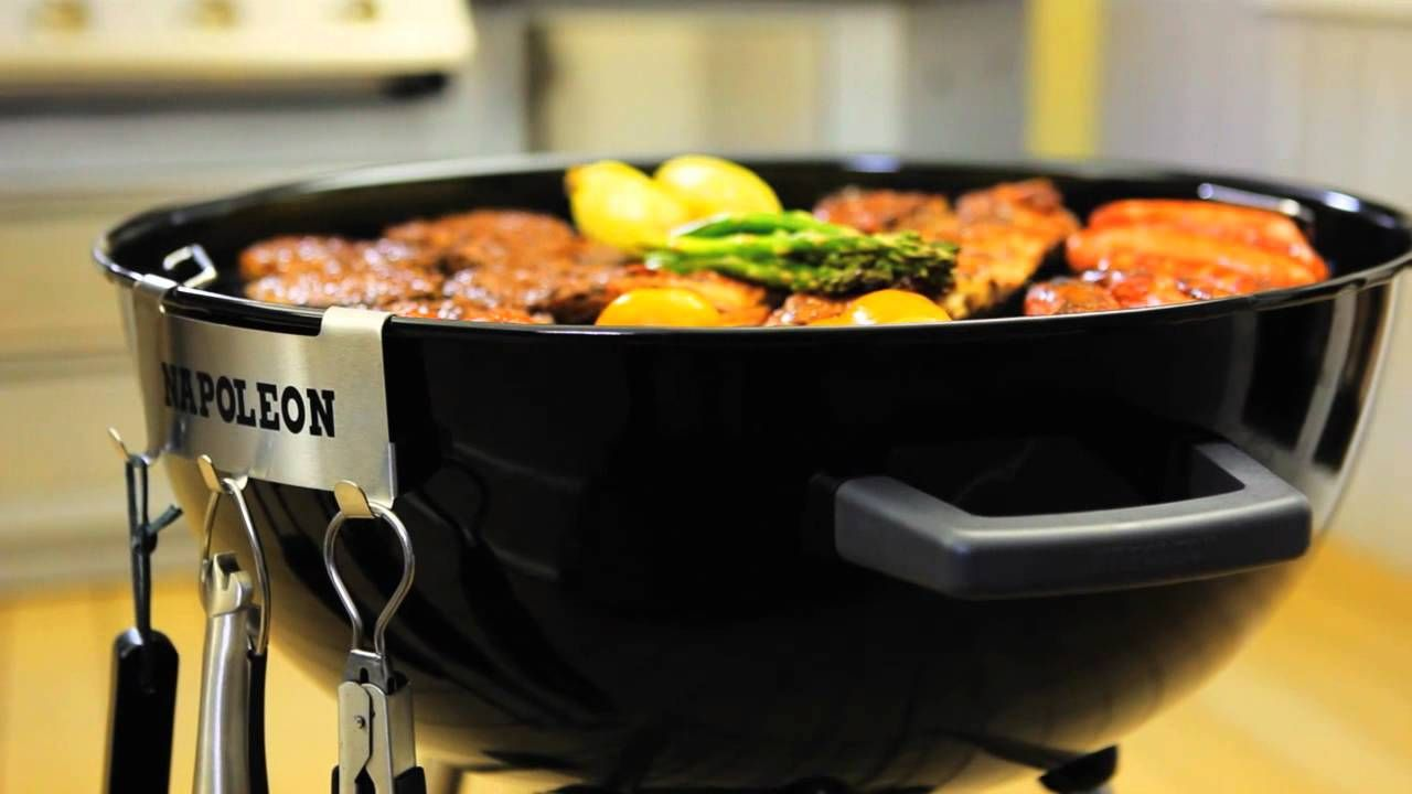 Napoleon Holzkohlegrill Nk22ck : Napoleon nk ck™ charcoal kettle grill napoleon products food