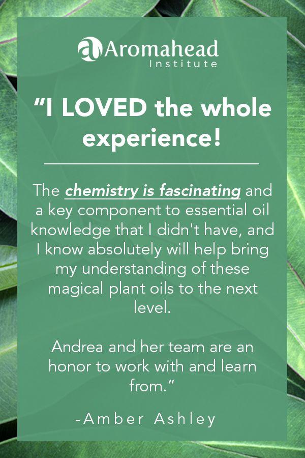 Amber Ashley Graduate Aromatherapy Certification Program