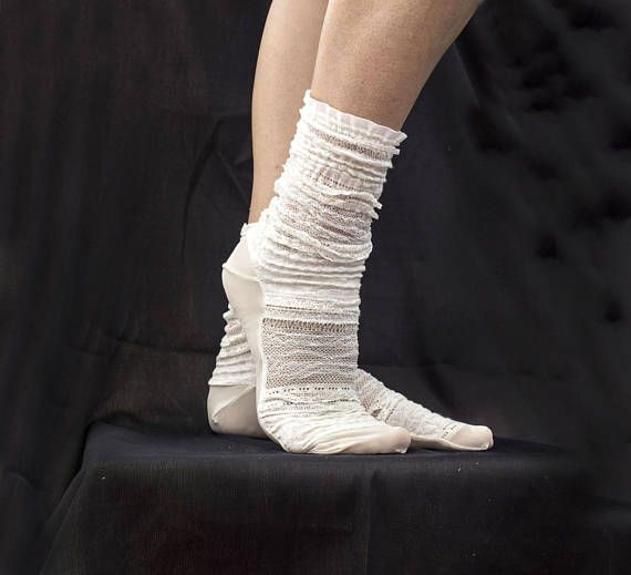 HUE Socks  Lace Trim Socks One Size