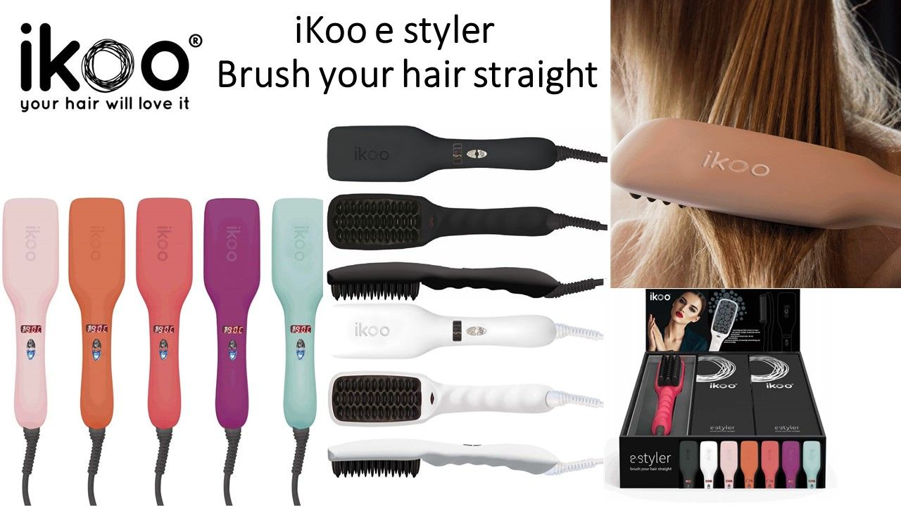 Ikoo E Styler Ikoo Hair Brush Malta Pinterest Hair Brush Hair
