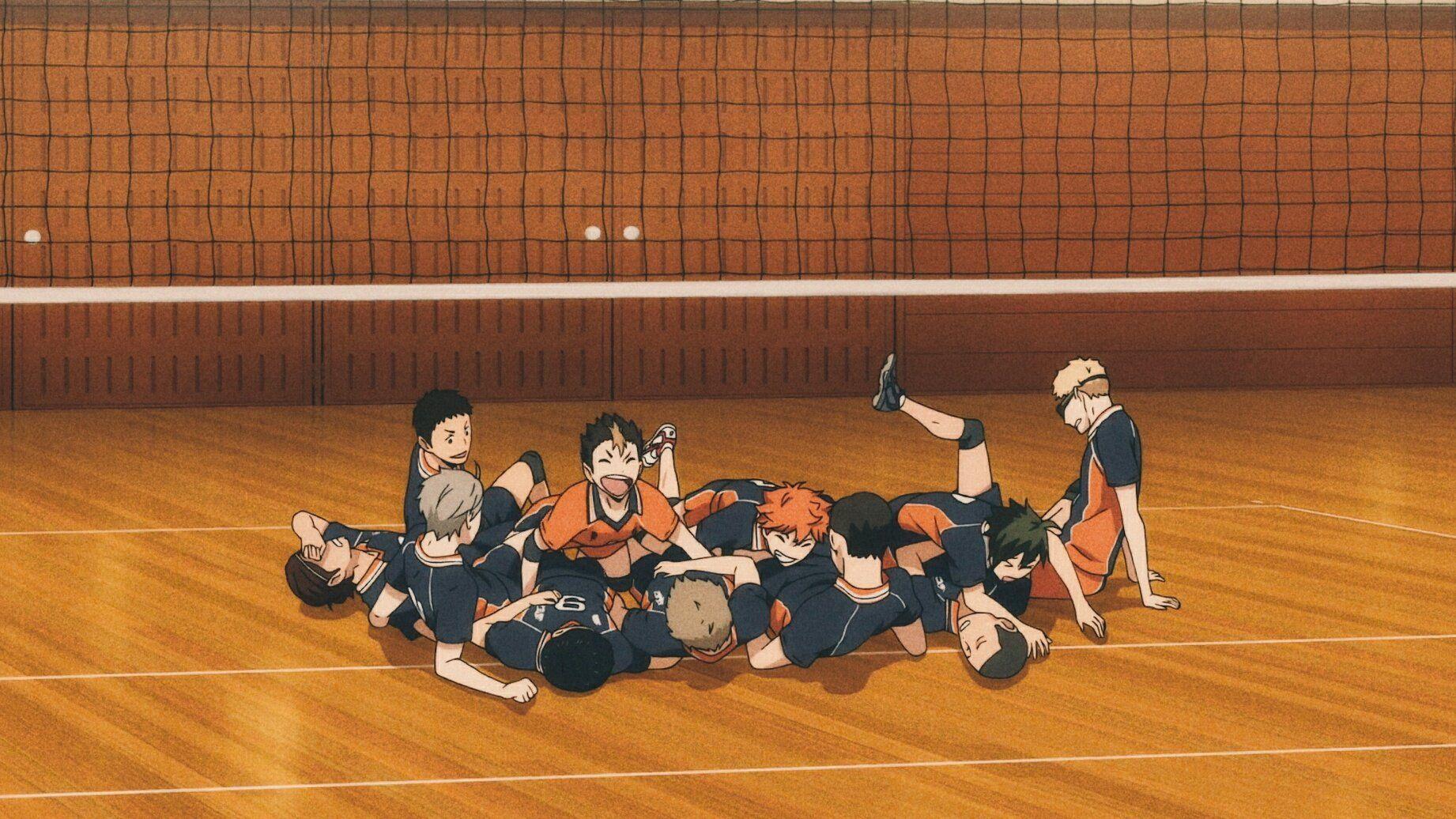 Karasuno Pics On Twitter In 2020 Haikyuu Karasuno Haikyuu Meme Anime Cover Photo