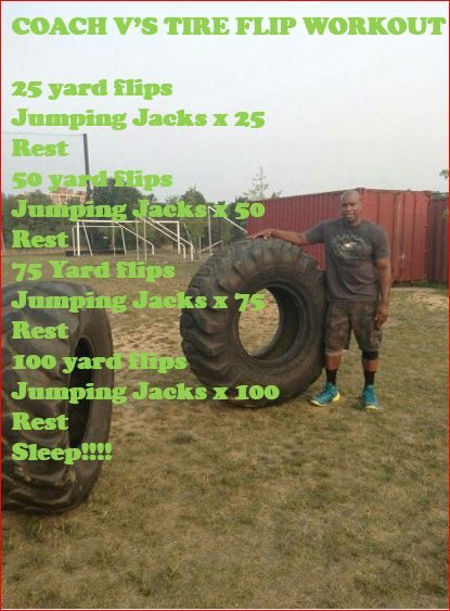 Tire Flip Workout Coach V S Personal Training Workouts