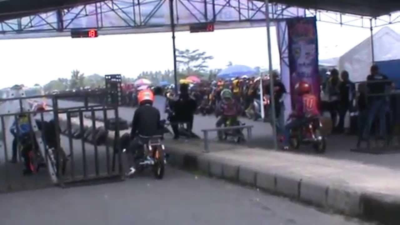 Cuplikan Balap Motor Jac Drag Bike Championship Jombang