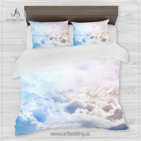 Clouds Bedding Above The Clouds Bedding Set White Clouds Duvet
