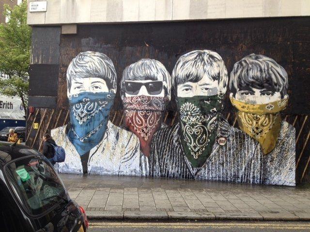 The Beatles Polska: Londyńska ulica bez Beatlesów