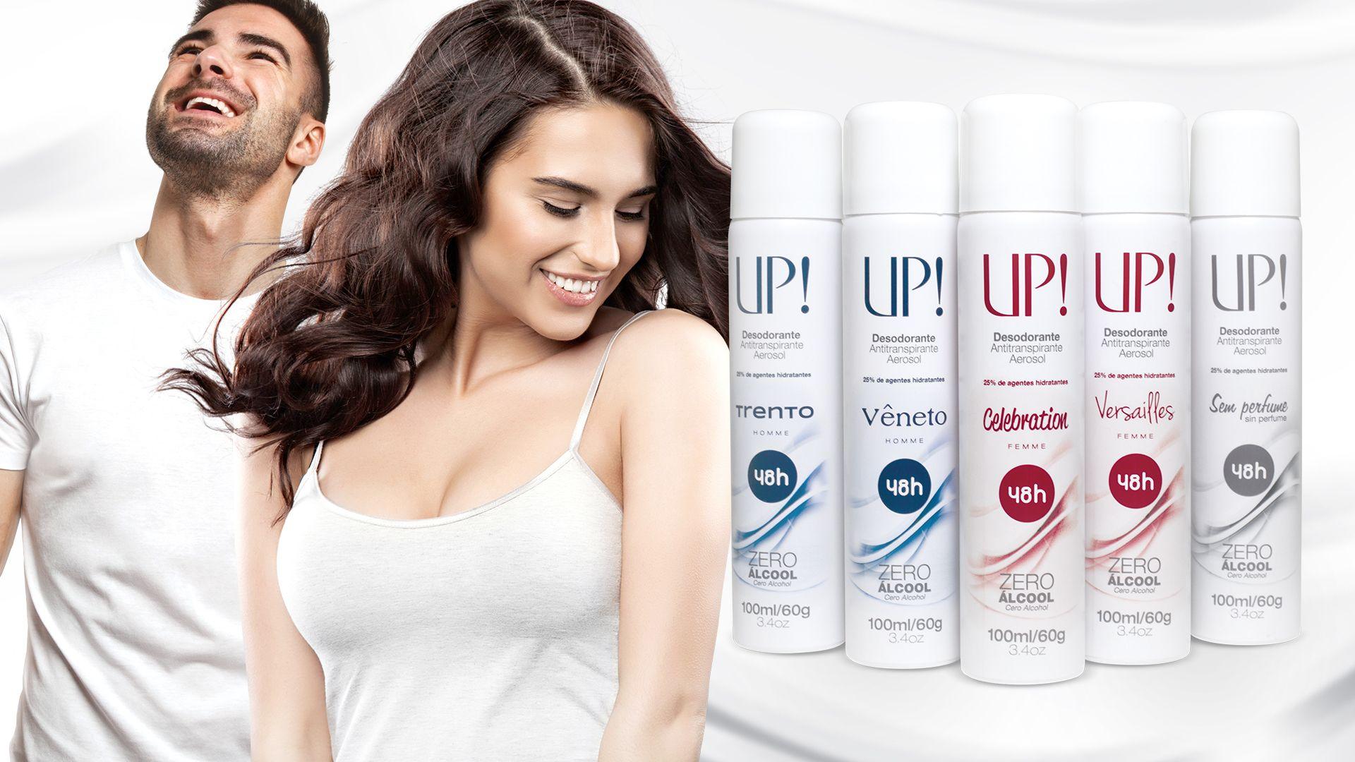 Nova linha de Desodorantes Antitranspirantes UP! - UP! Consultor 1017246