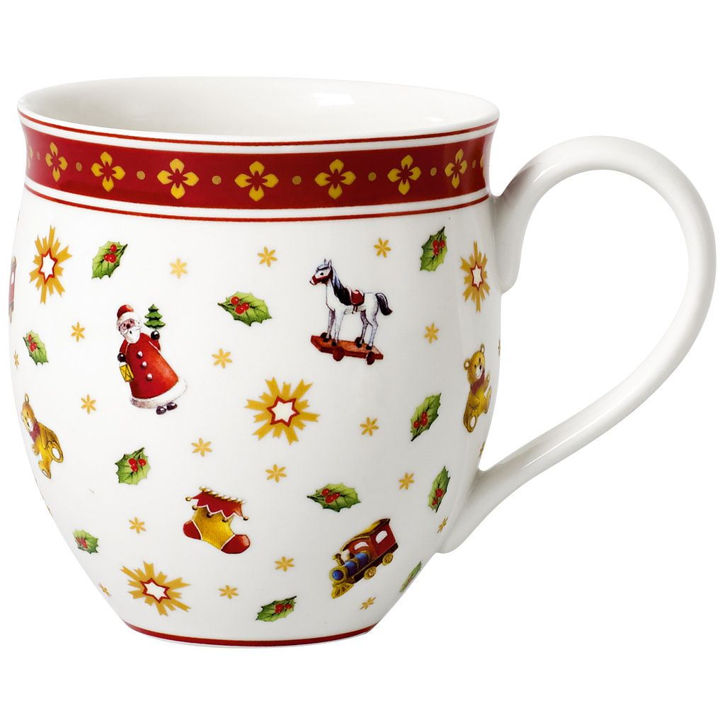 Toy S Delight Mug With Toys Design 11 1 2 Oz Christmas Mugs Christmas Dinnerware Mugs