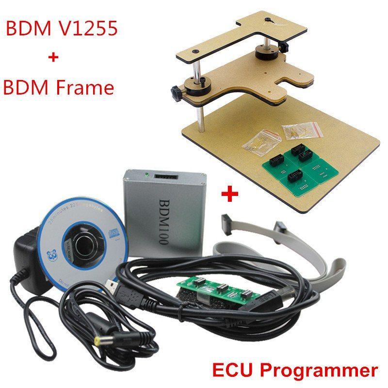 2018 BDM Frame Full Adapter BDM100 Programmer OBD2 OBDII ECU