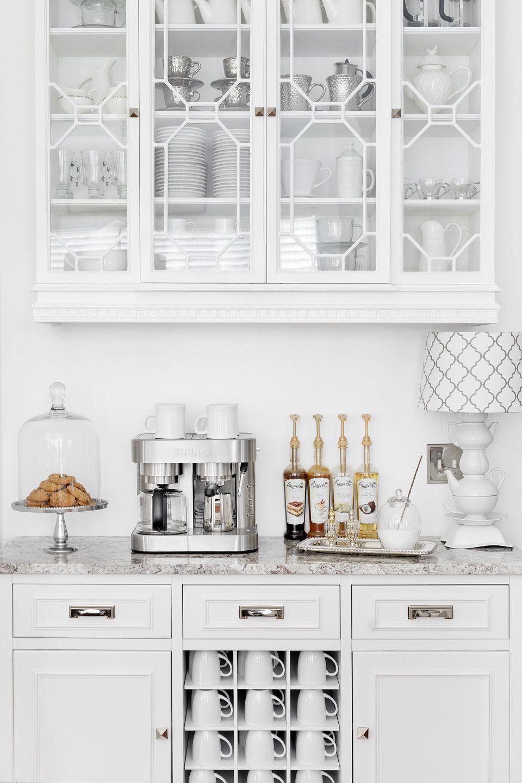 Portfolio   At Home With Nikki   Coffee & Tea Station   Bar Cart ...