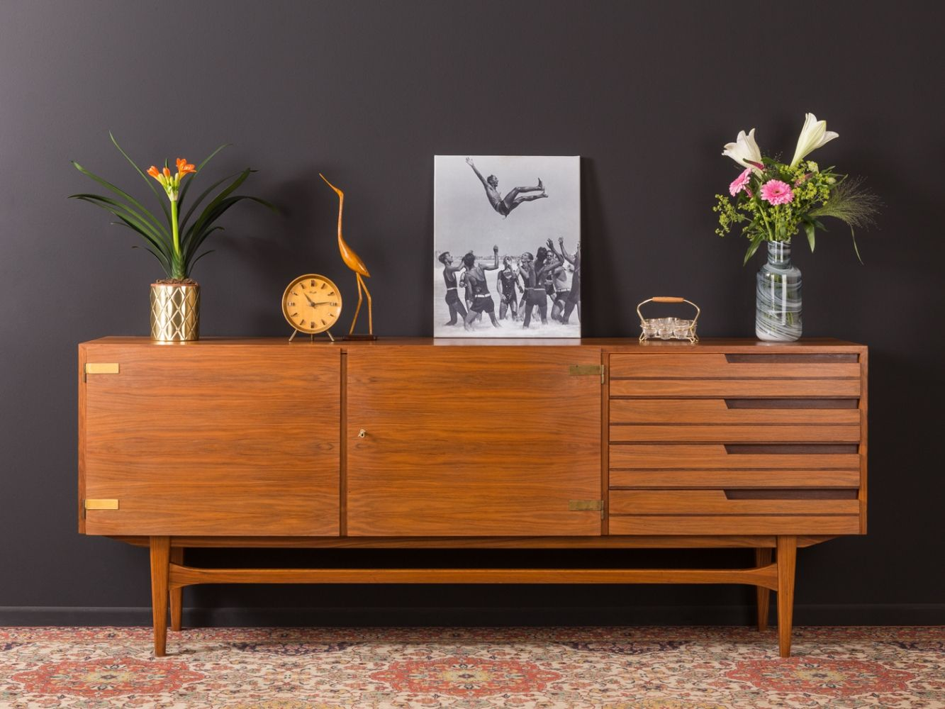 For Sale German Sideboard From The 1950s Mid Century Sideboard