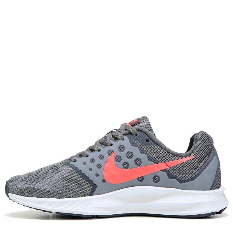 225896ff7a0c2b Nike Women s Downshifter 7 Wide Running Shoes (Grey Mango)