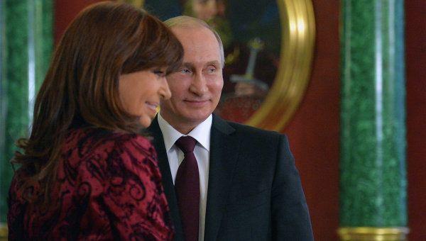 Cristina Kirchner: Wladimir Putin wurde ein Weltmarktführer
