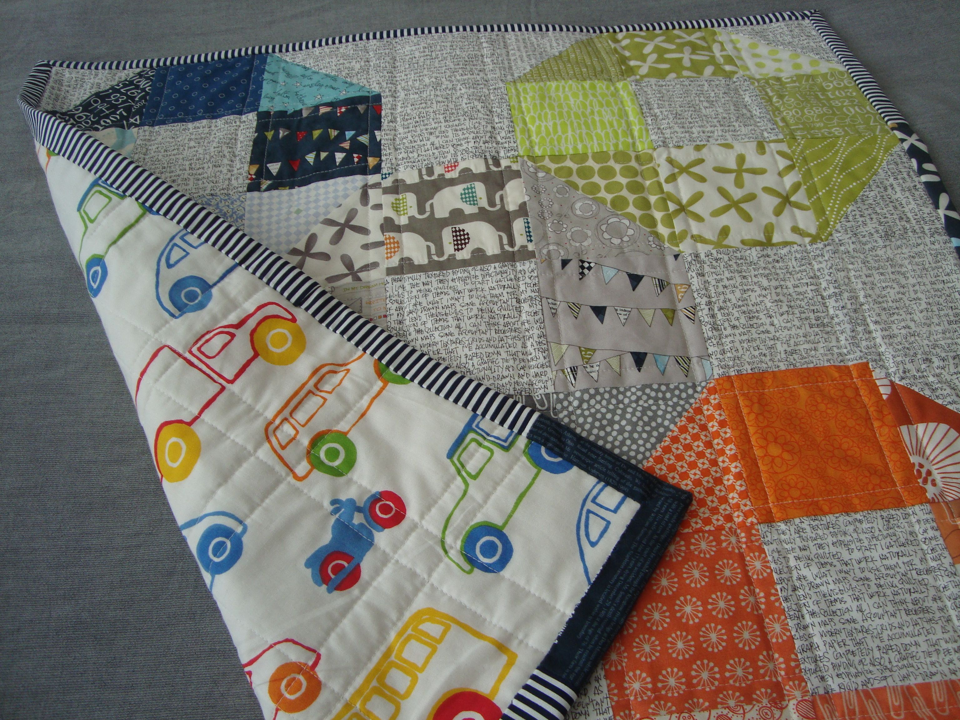 Baby Quilt - backing from IKEA - Overton Textiles | Overton ...