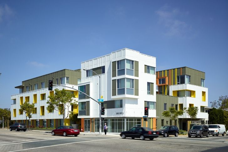 Pico Housing Is A Community Oriented Affordable Housing Development In Santa Monica Green Building Architecture Affordable Housing Multifamily Housing