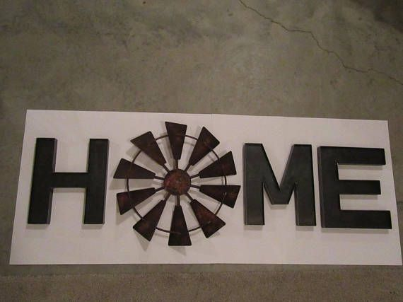 Rustic Windmill HOME Decor With 18\